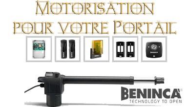 Motorisation de Portail Beninca